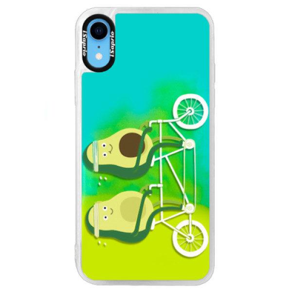 Neonové pouzdro Blue iSaprio – Avocado – iPhone XR Neonové pouzdro Blue iSaprio – Avocado – iPhone XR