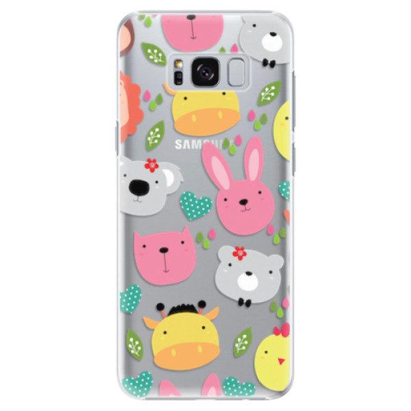 Plastové pouzdro iSaprio – Animals 01 – Samsung Galaxy S8 Plus Plastové pouzdro iSaprio – Animals 01 – Samsung Galaxy S8 Plus