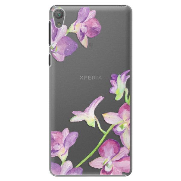Plastové pouzdro iSaprio – Purple Orchid – Sony Xperia E5 Plastové pouzdro iSaprio – Purple Orchid – Sony Xperia E5