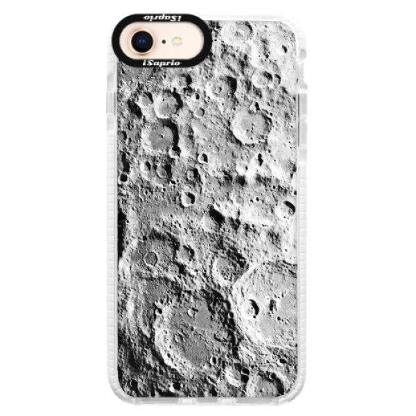 Silikonové pouzdro Bumper iSaprio – Moon Surface – iPhone 8 Silikonové pouzdro Bumper iSaprio – Moon Surface – iPhone 8