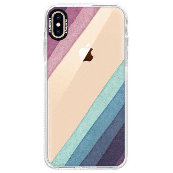 Silikonové pouzdro Bumper iSaprio – Glitter Stripes 01 – iPhone XS Max Silikonové pouzdro Bumper iSaprio – Glitter Stripes 01 – iPhone XS Max