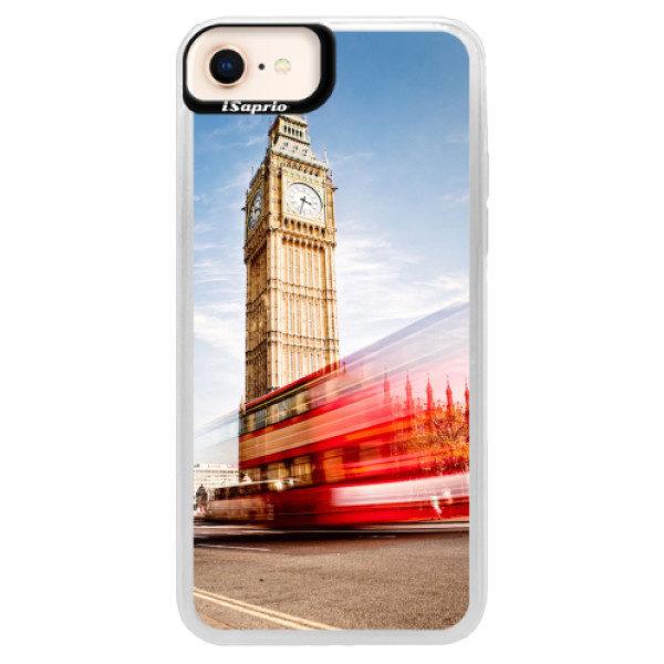 Neonové pouzdro Pink iSaprio – London 01 – iPhone 8 Neonové pouzdro Pink iSaprio – London 01 – iPhone 8
