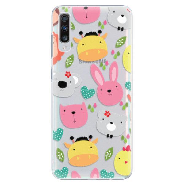 Plastové pouzdro iSaprio – Animals 01 – Samsung Galaxy A70 Plastové pouzdro iSaprio – Animals 01 – Samsung Galaxy A70