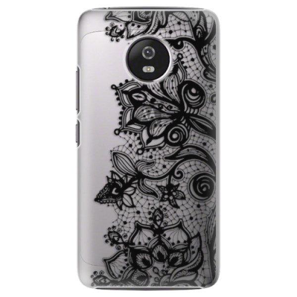 Plastové pouzdro iSaprio – Black Lace – Lenovo Moto G5 Plastové pouzdro iSaprio – Black Lace – Lenovo Moto G5