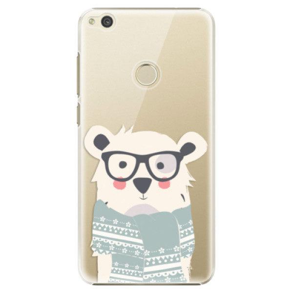 Plastové pouzdro iSaprio – Bear with Scarf – Huawei P9 Lite 2017 Plastové pouzdro iSaprio – Bear with Scarf – Huawei P9 Lite 2017