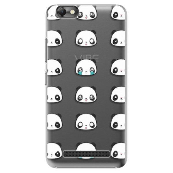 Plastové pouzdro iSaprio – Panda pattern 01 – Lenovo Vibe C Plastové pouzdro iSaprio – Panda pattern 01 – Lenovo Vibe C