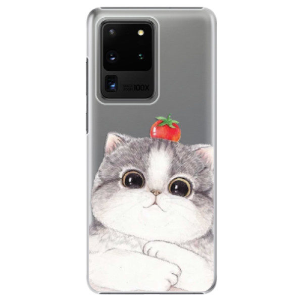 Plastové pouzdro iSaprio – Cat 03 – Samsung Galaxy S20 Ultra Plastové pouzdro iSaprio – Cat 03 – Samsung Galaxy S20 Ultra