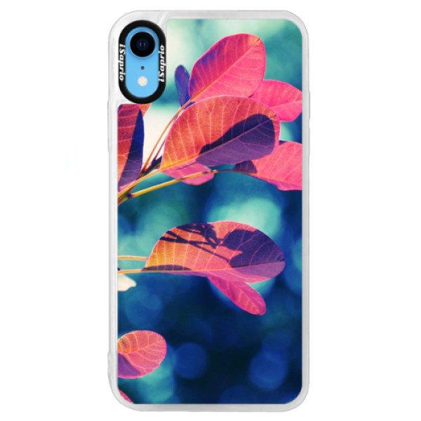 Neonové pouzdro Blue iSaprio – Autumn 01 – iPhone XR Neonové pouzdro Blue iSaprio – Autumn 01 – iPhone XR