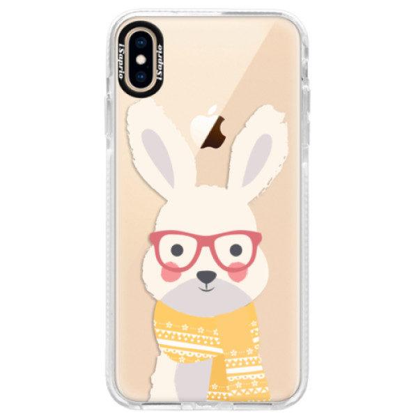 Silikonové pouzdro Bumper iSaprio – Smart Rabbit – iPhone XS Max Silikonové pouzdro Bumper iSaprio – Smart Rabbit – iPhone XS Max