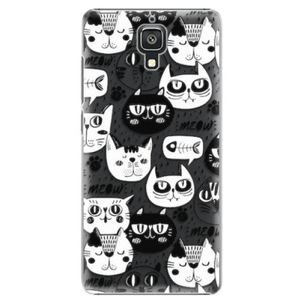 Plastové pouzdro iSaprio – Cat pattern 03 – Xiaomi Mi4 Plastové pouzdro iSaprio – Cat pattern 03 – Xiaomi Mi4