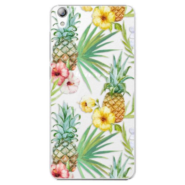 Plastové pouzdro iSaprio – Pineapple Pattern 02 – Lenovo S850 Plastové pouzdro iSaprio – Pineapple Pattern 02 – Lenovo S850
