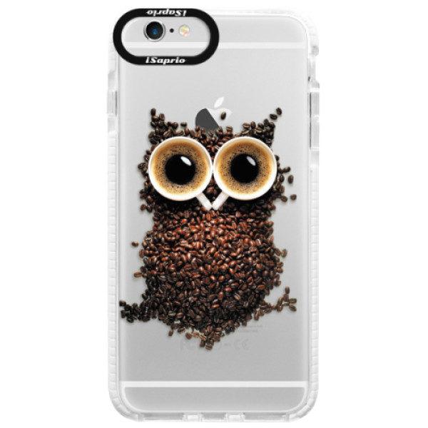 Silikonové pouzdro Bumper iSaprio – Owl And Coffee – iPhone 6/6S Silikonové pouzdro Bumper iSaprio – Owl And Coffee – iPhone 6/6S