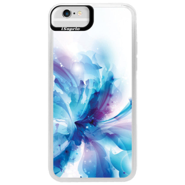 Neonové pouzdro Blue iSaprio – Abstract Flower – iPhone 6/6S Neonové pouzdro Blue iSaprio – Abstract Flower – iPhone 6/6S
