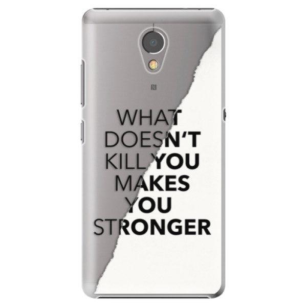Plastové pouzdro iSaprio – Makes You Stronger – Lenovo P2 Plastové pouzdro iSaprio – Makes You Stronger – Lenovo P2