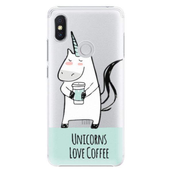 Plastové pouzdro iSaprio – Unicorns Love Coffee – Xiaomi Redmi S2 Plastové pouzdro iSaprio – Unicorns Love Coffee – Xiaomi Redmi S2