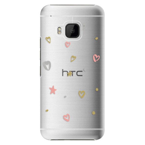 Plastové pouzdro iSaprio – Lovely Pattern – HTC One M9 Plastové pouzdro iSaprio – Lovely Pattern – HTC One M9