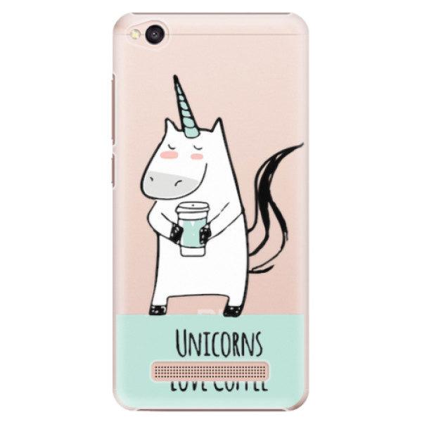 Plastové pouzdro iSaprio – Unicorns Love Coffee – Xiaomi Redmi 4A Plastové pouzdro iSaprio – Unicorns Love Coffee – Xiaomi Redmi 4A