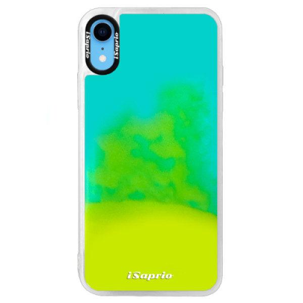 Neonové pouzdro Blue iSaprio – 4Pure – mléčný bez potisku – iPhone XR Neonové pouzdro Blue iSaprio – 4Pure – mléčný bez potisku – iPhone XR