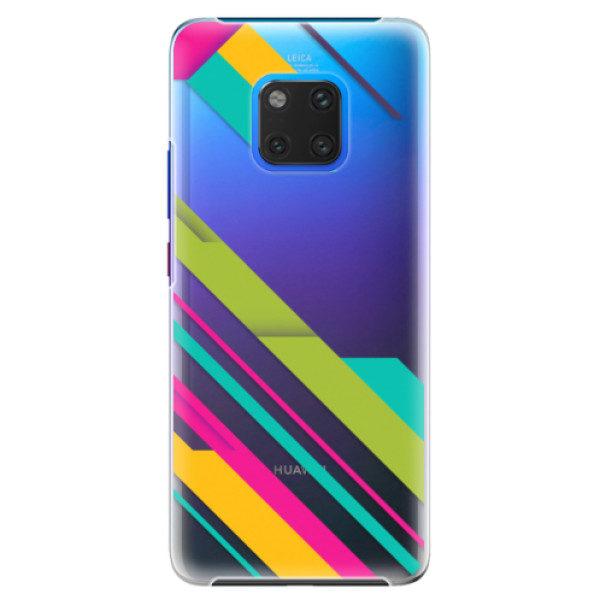 Plastové pouzdro iSaprio – Color Stripes 03 – Huawei Mate 20 Pro Plastové pouzdro iSaprio – Color Stripes 03 – Huawei Mate 20 Pro