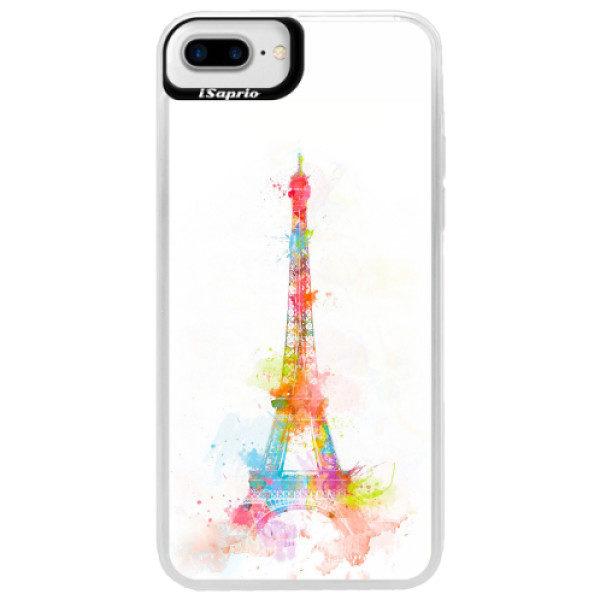 Neonové pouzdro Blue iSaprio – Eiffel Tower – iPhone 7 Plus Neonové pouzdro Blue iSaprio – Eiffel Tower – iPhone 7 Plus