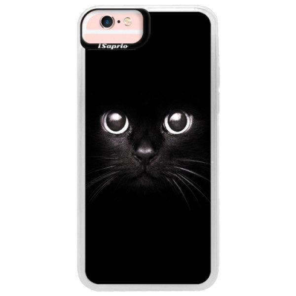 Neonové pouzdro Pink iSaprio – Black Cat – iPhone 6/6S Neonové pouzdro Pink iSaprio – Black Cat – iPhone 6/6S