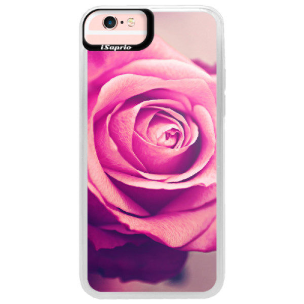 Neonové pouzdro Pink iSaprio – Pink Rose – iPhone 6/6S Neonové pouzdro Pink iSaprio – Pink Rose – iPhone 6/6S
