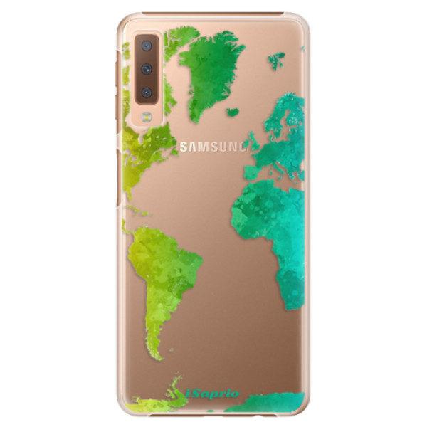 Plastové pouzdro iSaprio – Cold Map – Samsung Galaxy A7 (2018) Plastové pouzdro iSaprio – Cold Map – Samsung Galaxy A7 (2018)