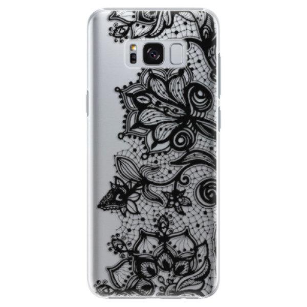 Plastové pouzdro iSaprio – Black Lace – Samsung Galaxy S8 Plus Plastové pouzdro iSaprio – Black Lace – Samsung Galaxy S8 Plus