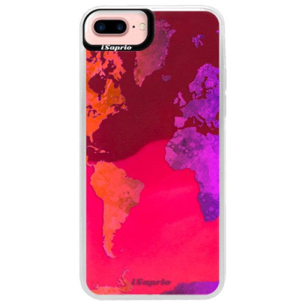 Neonové pouzdro Pink iSaprio – Warm Map – iPhone 7 Plus Neonové pouzdro Pink iSaprio – Warm Map – iPhone 7 Plus