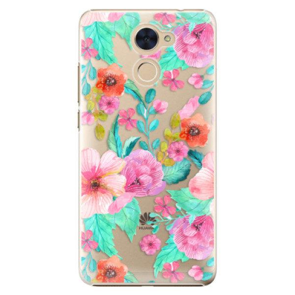 Plastové pouzdro iSaprio – Flower Pattern 01 – Huawei Y7 / Y7 Prime Plastové pouzdro iSaprio – Flower Pattern 01 – Huawei Y7 / Y7 Prime