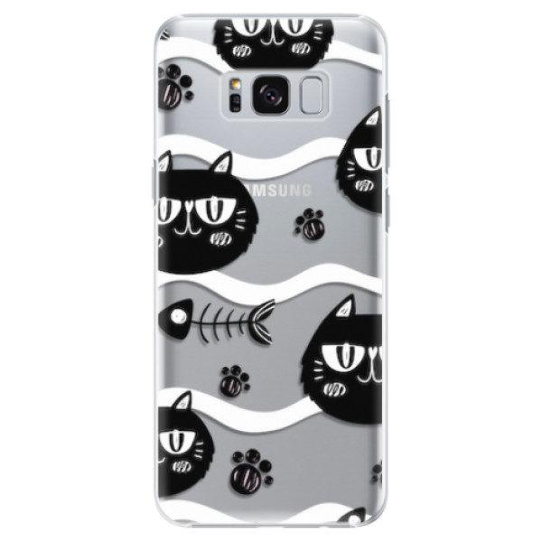 Plastové pouzdro iSaprio – Cat pattern 04 – Samsung Galaxy S8 Plus Plastové pouzdro iSaprio – Cat pattern 04 – Samsung Galaxy S8 Plus