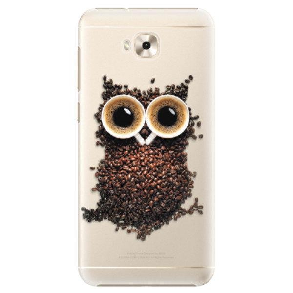 Plastové pouzdro iSaprio – Owl And Coffee – Asus ZenFone 4 Selfie ZD553KL Plastové pouzdro iSaprio – Owl And Coffee – Asus ZenFone 4 Selfie ZD553KL