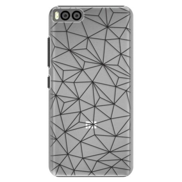 Plastové pouzdro iSaprio – Abstract Triangles 03 – black – Xiaomi Mi6 Plastové pouzdro iSaprio – Abstract Triangles 03 – black – Xiaomi Mi6