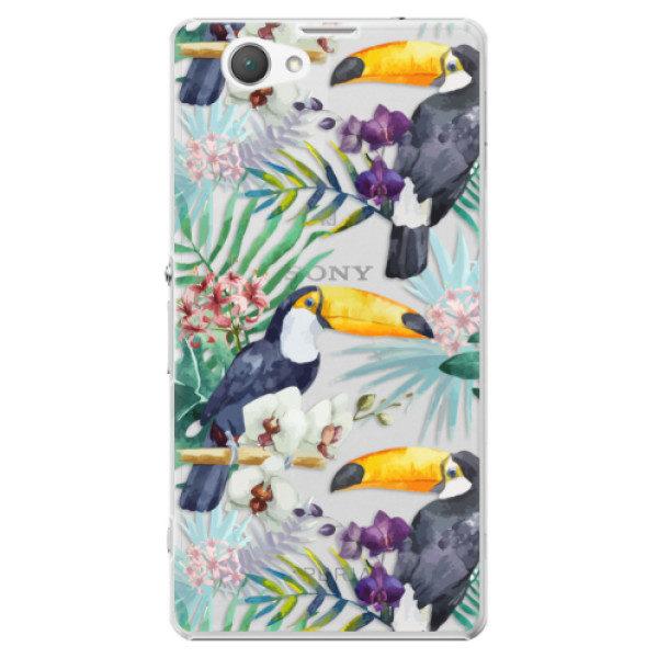 Plastové pouzdro iSaprio – Tucan Pattern 01 – Sony Xperia Z1 Compact Plastové pouzdro iSaprio – Tucan Pattern 01 – Sony Xperia Z1 Compact