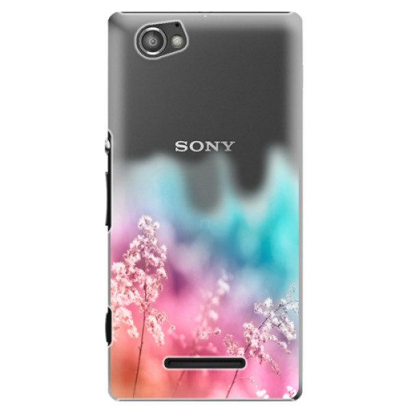 Plastové pouzdro iSaprio – Rainbow Grass – Sony Xperia M Plastové pouzdro iSaprio – Rainbow Grass – Sony Xperia M