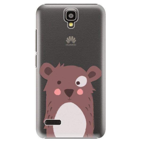 Plastové pouzdro iSaprio – Brown Bear – Huawei Ascend Y5 Plastové pouzdro iSaprio – Brown Bear – Huawei Ascend Y5