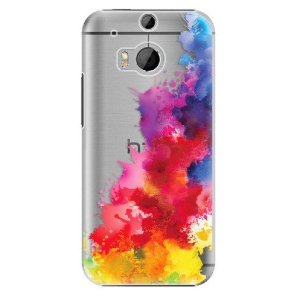 Plastové pouzdro iSaprio – Color Splash 01 – HTC One M8 Plastové pouzdro iSaprio – Color Splash 01 – HTC One M8