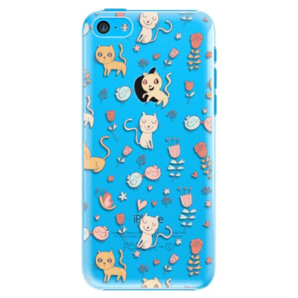 Plastové pouzdro iSaprio – Cat pattern 02 – iPhone 5C Plastové pouzdro iSaprio – Cat pattern 02 – iPhone 5C