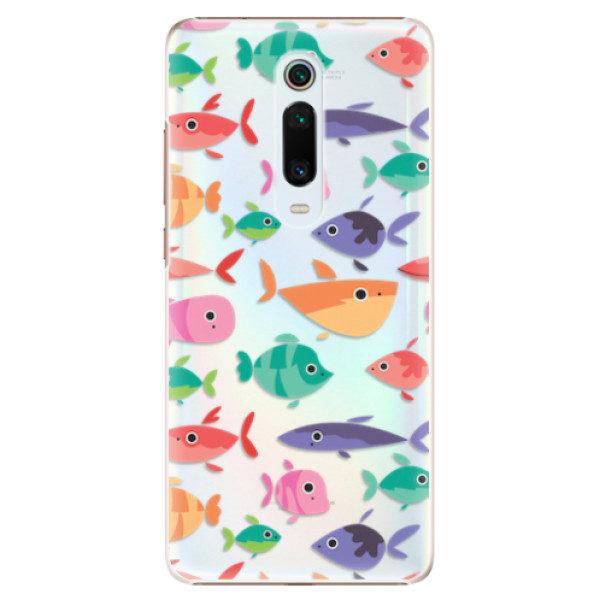 Plastové pouzdro iSaprio – Fish pattern 01 – Xiaomi Mi 9T Pro Plastové pouzdro iSaprio – Fish pattern 01 – Xiaomi Mi 9T Pro