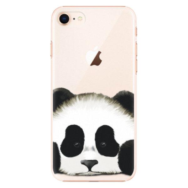 Plastové pouzdro iSaprio – Sad Panda – iPhone 8 Plastové pouzdro iSaprio – Sad Panda – iPhone 8