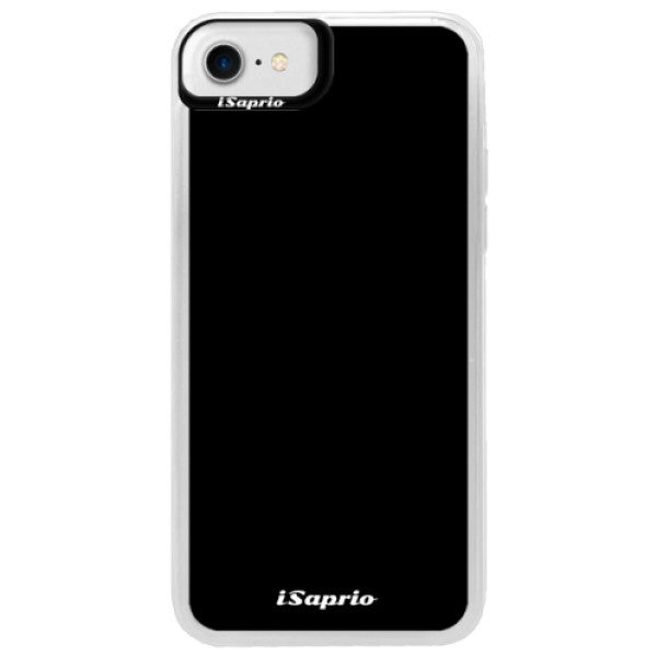 Neonové pouzdro Blue iSaprio – 4Pure – černý – iPhone 7 Neonové pouzdro Blue iSaprio – 4Pure – černý – iPhone 7