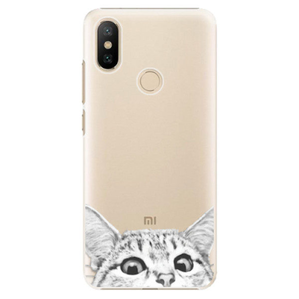 Plastové pouzdro iSaprio – Cat 02 – Xiaomi Mi A2 Plastové pouzdro iSaprio – Cat 02 – Xiaomi Mi A2