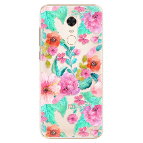 Plastové pouzdro iSaprio – Flower Pattern 01 – Xiaomi Redmi 5 Plus Plastové pouzdro iSaprio – Flower Pattern 01 – Xiaomi Redmi 5 Plus