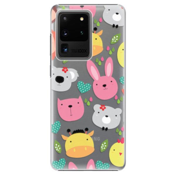 Plastové pouzdro iSaprio – Animals 01 – Samsung Galaxy S20 Ultra Plastové pouzdro iSaprio – Animals 01 – Samsung Galaxy S20 Ultra