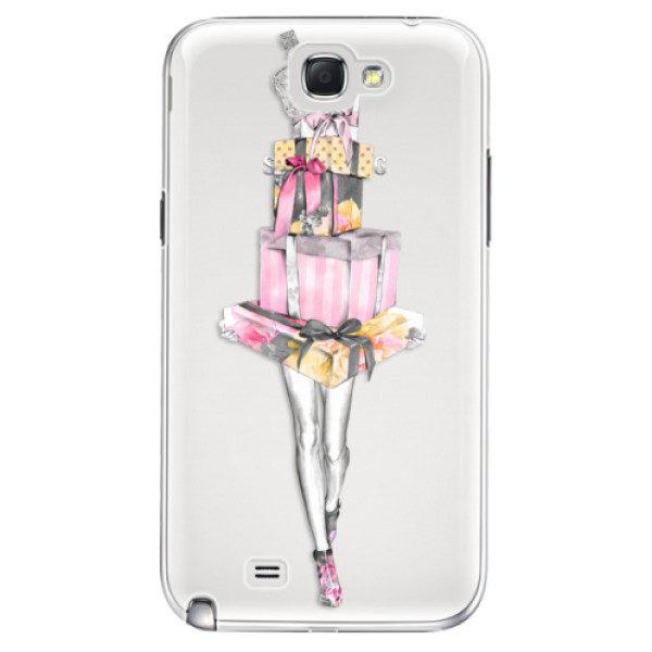 Plastové pouzdro iSaprio – Queen of Shopping – Samsung Galaxy Note 2 Plastové pouzdro iSaprio – Queen of Shopping – Samsung Galaxy Note 2