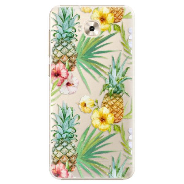 Plastové pouzdro iSaprio – Pineapple Pattern 02 – Asus ZenFone 4 Selfie ZD553KL Plastové pouzdro iSaprio – Pineapple Pattern 02 – Asus ZenFone 4 Selfie ZD553KL