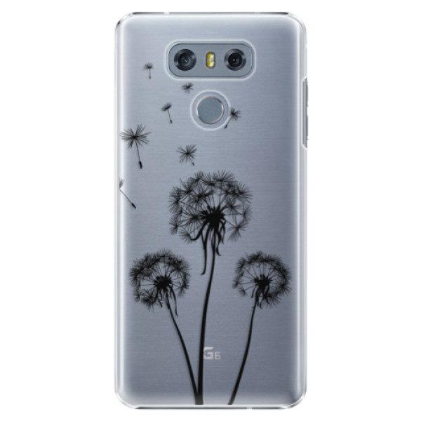 Plastové pouzdro iSaprio – Three Dandelions – black – LG G6 (H870) Plastové pouzdro iSaprio – Three Dandelions – black – LG G6 (H870)