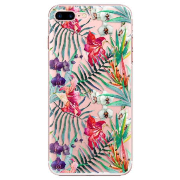 Plastové pouzdro iSaprio – Flower Pattern 03 – iPhone 7 Plus Plastové pouzdro iSaprio – Flower Pattern 03 – iPhone 7 Plus