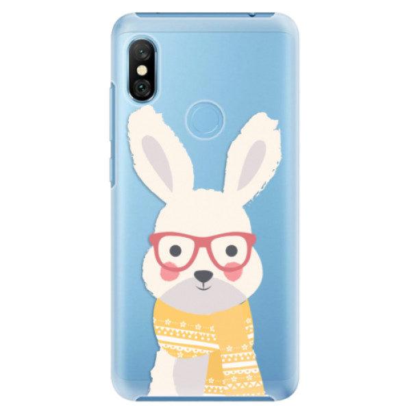Plastové pouzdro iSaprio – Smart Rabbit – Xiaomi Redmi Note 6 Pro Plastové pouzdro iSaprio – Smart Rabbit – Xiaomi Redmi Note 6 Pro