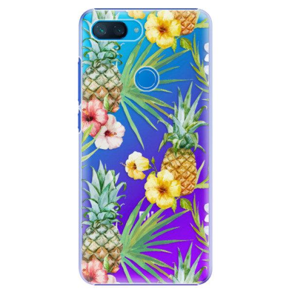 Plastové pouzdro iSaprio – Parrot Pattern 01 – Xiaomi Mi 8 Lite Plastové pouzdro iSaprio – Parrot Pattern 01 – Xiaomi Mi 8 Lite